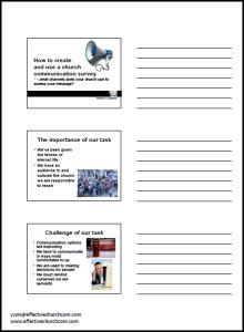 Video Survey Handouts