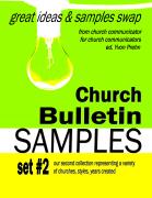 Church Bulletin Sample Book 2