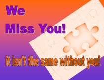 Miss you Card #3