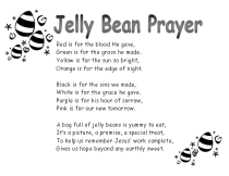 Jelly Bean Prayer B& W Panic Pack