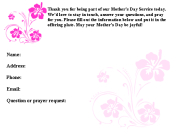 Mother's Day Connection Card, free card