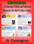 Christmas Follow Up Postcard