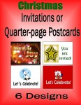 Christmas Quarter Pg Postcards