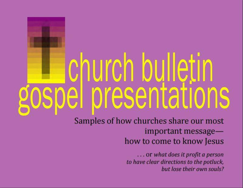 e-book Gospel Presentations