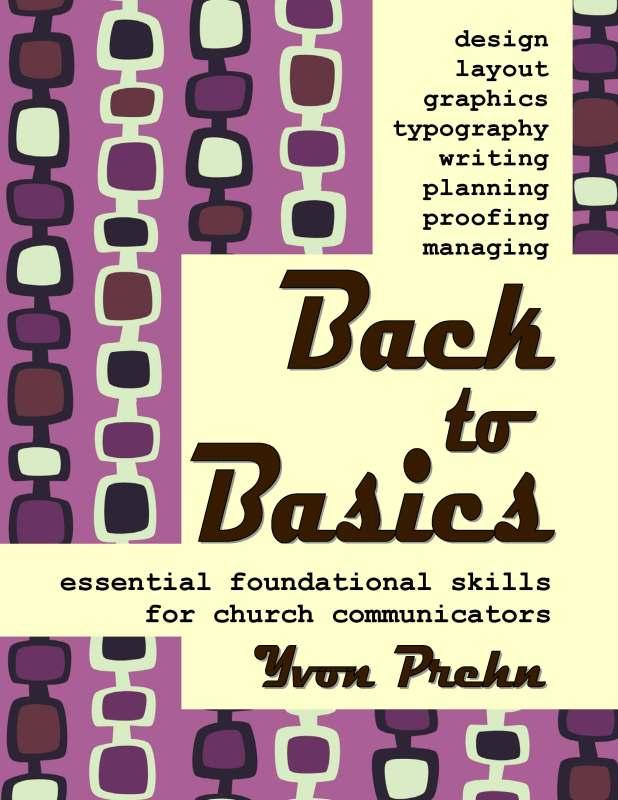 Back to Basics in Church Communications, book by Yvon Prehn