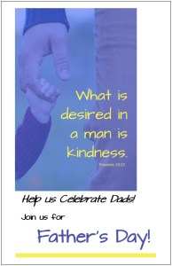Free Fathers Day Invitation