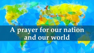 A guided prayer for grace in our world