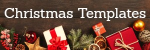 FREE CHRISTMAS TEMPLATES in PDF & MS Publisher