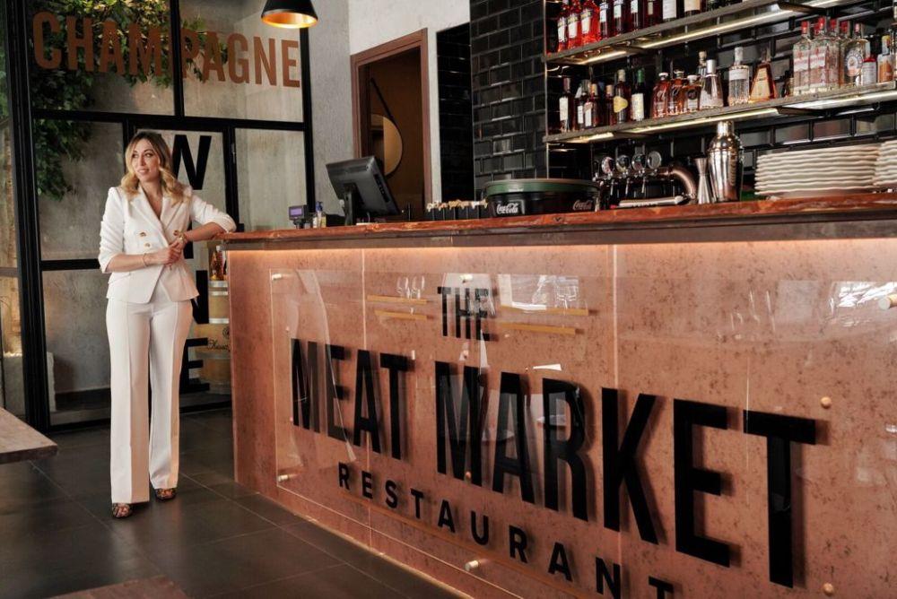 Anita Nuzzi proprietaria The Meat market ristorante carne Roma Prati