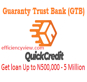 GTBank Quick Credit Loan