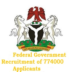 Federal Government Recruitment of 774000 Applicants for Public Workers 2020