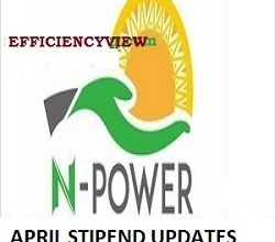 Photo of Npower Beneficiaries gets April Stipends Payment next week May 2020 latest news