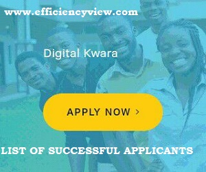 Photo of Kwara State (KWASSIP) Digital Skills Training Successful Shortlisted Candidates 2020-2021
