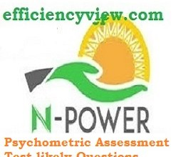 Photo of Npower Batch A and B Psychometric Assessment Test likely Questions: tips to score high