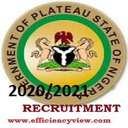 Photo of Plateau State Civil Service Jobs Recruitment 2020/2021: Download form here