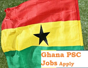Ghana PSC Recruitment Form Link Portal 2020/2021
