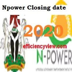 Photo of Npower Batch C Recruitment new Registration deadline/closing date August 2020