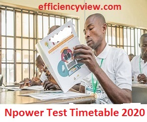 Photo of Npower Screening Assessment Test Timetable 2020 download pdf here