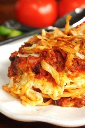 baked spahetti