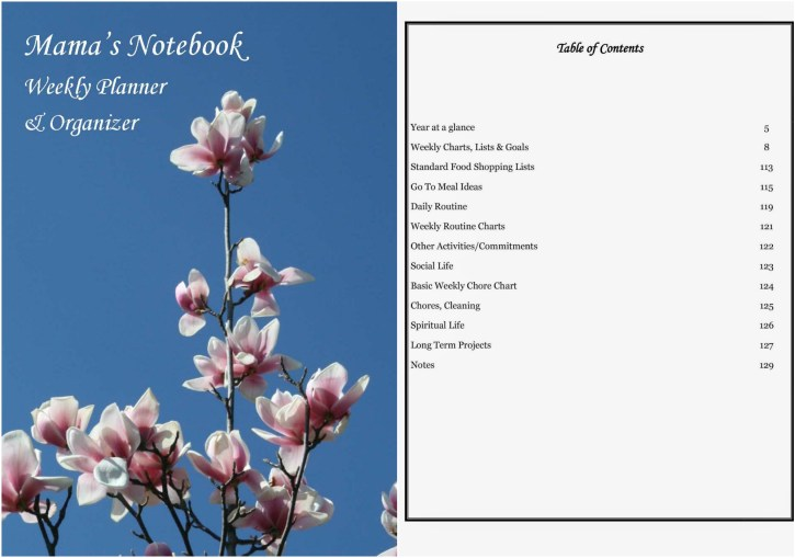 Mama's Notebook Planner