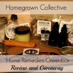 Home Remedies Greenbox: A Homegrown Collective Review & Giveaway