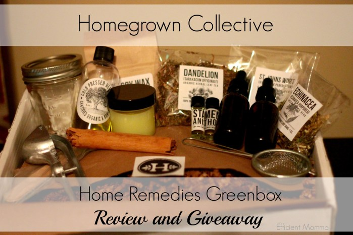 Homegrown Collective Box Review and Giveaway