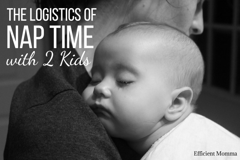 The Logistics of Nap Time with Two Kids