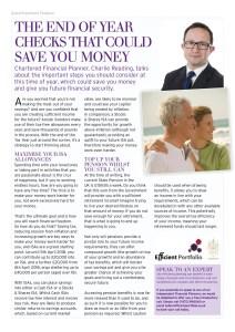 Rutland Living Efficient Portfolio Article Feb