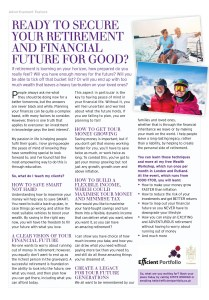 Rutland Living Efficient Portfolio Article March