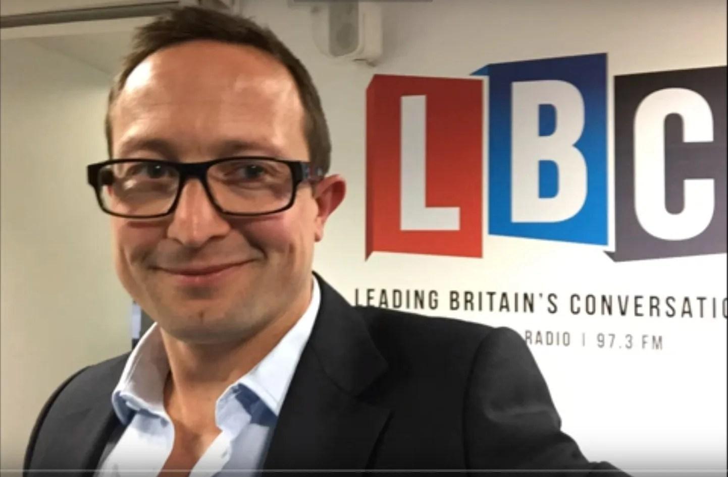 Charlie - back to LBC Radio - Efficient Portfolio