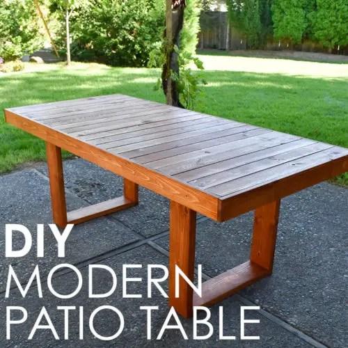 modern diy patio table effie row