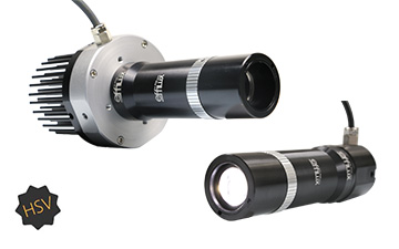 effilux high speed video lighting range