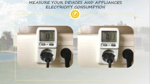Plug in power meter measure power consumption
