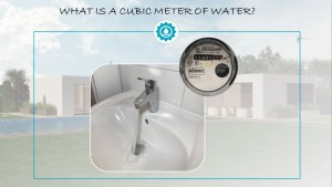 What a cubic meter of water is
