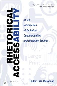"Book cover: ""Rhetorical Accessability"""
