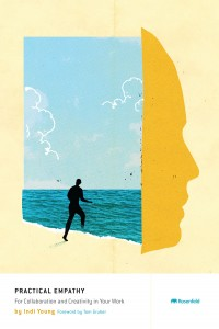 """Book cover: """"Practical Empathy"""" by Indi Young"""