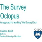 Seminar on teaching Total Survey Error, Auckland