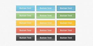 rows of buttons reading button text