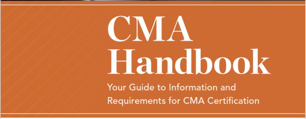CMA Handbook