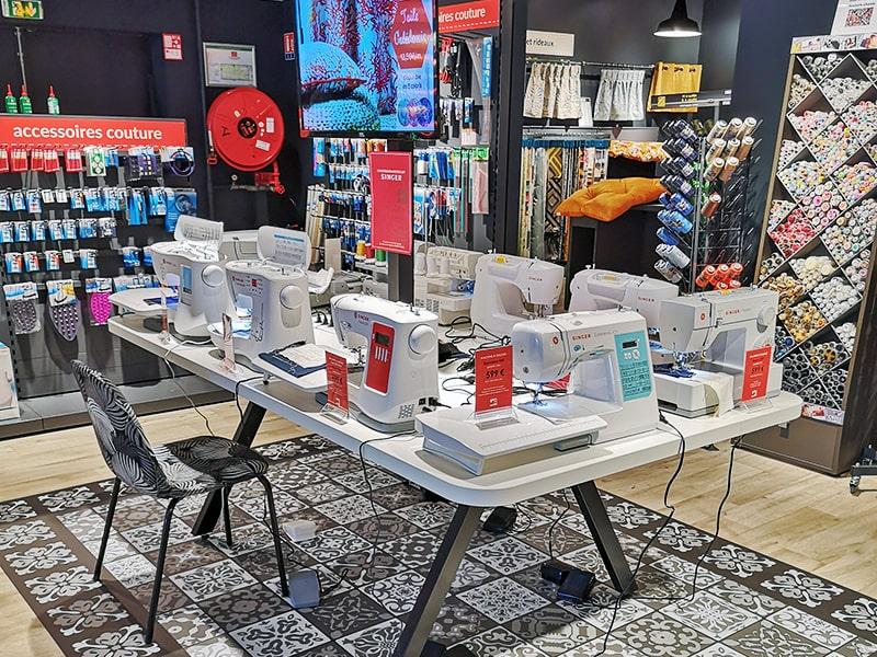 magasins de tissus efi concept