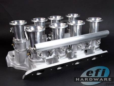 E Series Ford 351 Cleveland Ida Quad Stack Injection