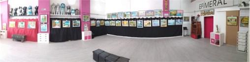Exposición de Óleos y Tallas de Víctor Juez