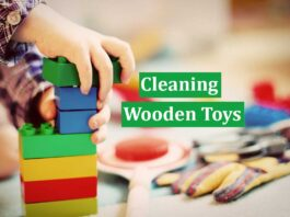 Cleaning Wooden Toys