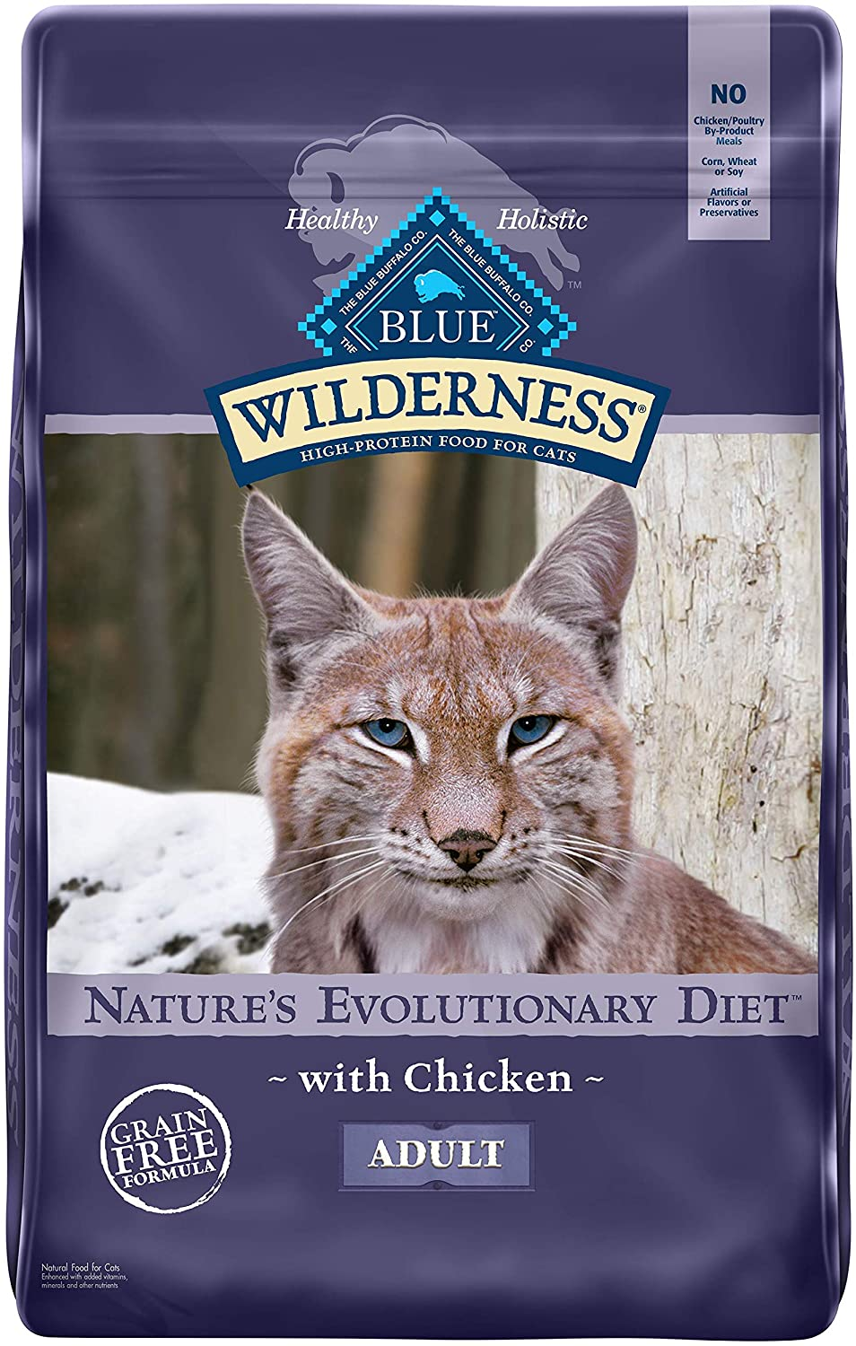 Blue Buffalo Wilderness Dry Cat Food for Ferrets