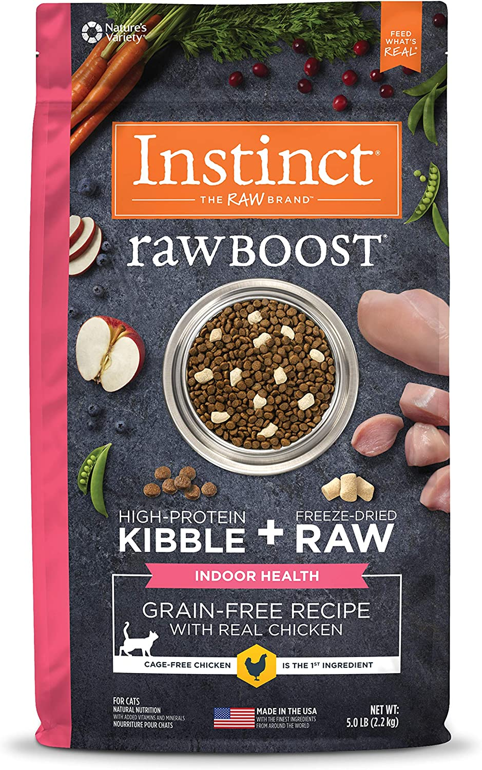 Instinct Raw Boost Dry Cat Food for Ferrets