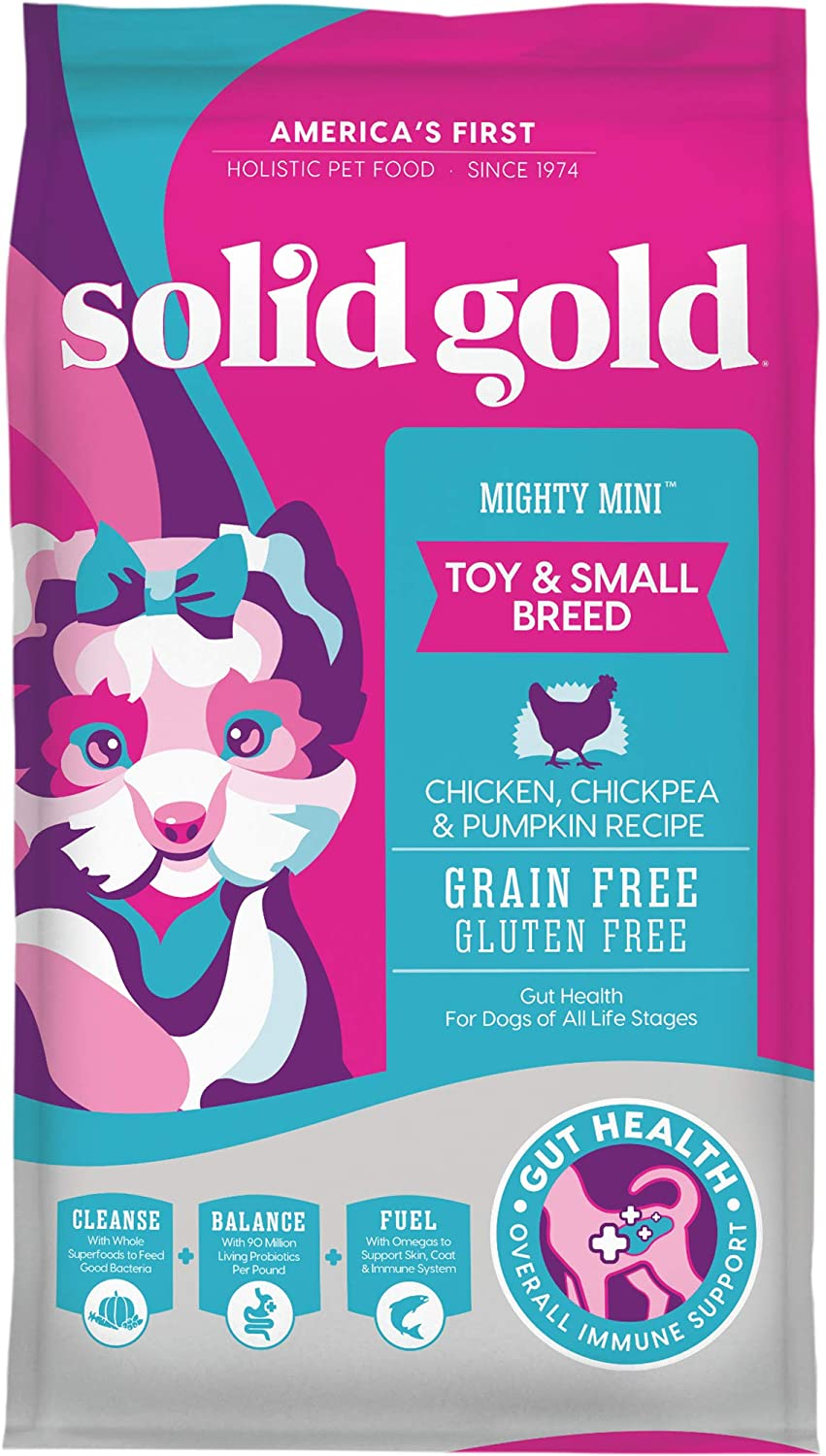 Solid Gold Small & Toy Breed Wet & Dry Dog Food