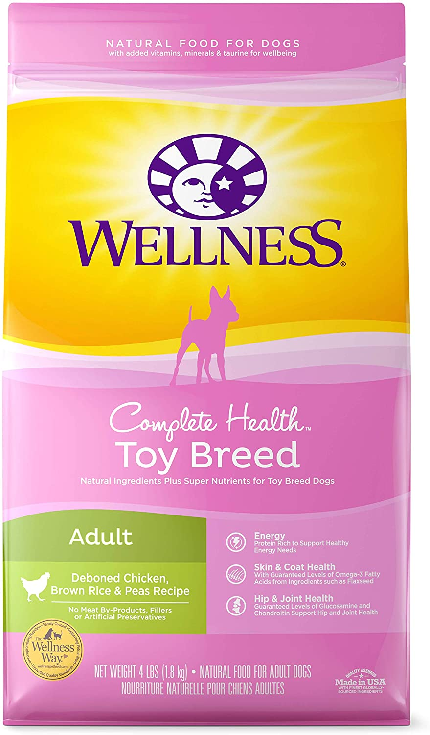 Wellness Complete Natural Dry Small Breed Dog Food