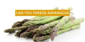 Can you freeze Asparagus