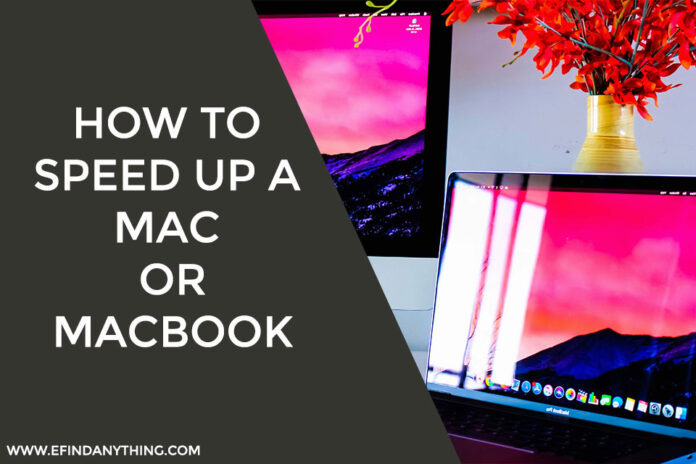 How to Speed Up a Mac or MacBook