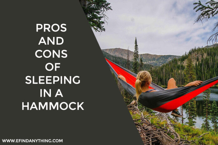 Pros And Cons of Sleeping in a Hammock
